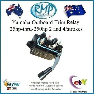 A Brand New RMP Yamaha Trim Relay 25hp-thru-250hp 2 & 4/strokes # R 61A-81950-01