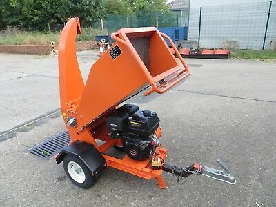 2016/17 Mdl Powerup Petrol Chipper / Shredder 15Hp