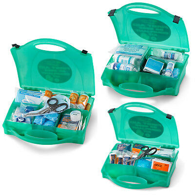 Click Medical BS8599 Compliant First Aid Kit S M L Bandages Plasters Wipes Tape
