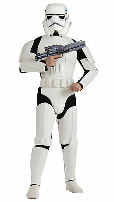 Stormtrooper Deluxe Storm Trooper Star Wars Movie Classic Dress Up Mens Costume