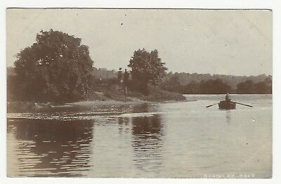 A Dinckley Boat Used To Ferry People From Dinckley Village To Hurst Green. Real