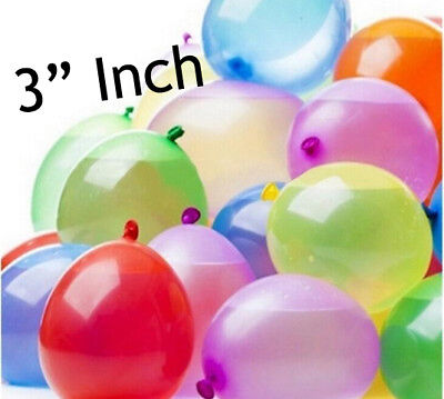 50/100 Pc Water Balloon Bombs Multi Colour Kids Summer Party Fun Toys Bag Filler