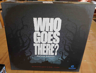 Who Goes There? Deluxe Engl Brettspiel The Thing Das Ding inkl. KS exclusives