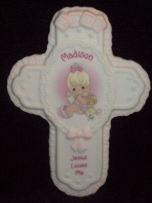 New Madison Baby Cross By Enesco Precious Moments Collectible Keepsake