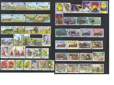 (775) Isle Of Man 1997-1998 Used Collection Cat £43+