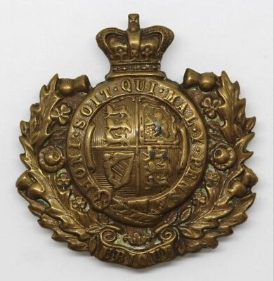 Victorian Royal Engineers Belt Plate Centre #8