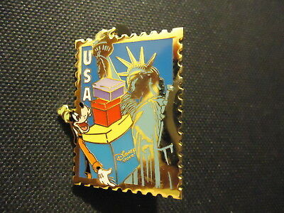 Disney 12 Months Of Magic Country Stamp Goofy Usa Pin