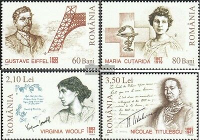 Romania 6167-6170 (complete.issue.) unmounted mint / never hinged 2007 Anniversa