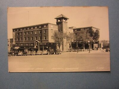 Old Vintage 1951 PRESCOTT ARIZONA RPPC Real Photo POSTCARD - Hassayampa Hotel