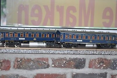 Darstead WILAG Twerenbold Modellbau 2-teiliges CIWL Sleeping car set excellent