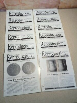 1999 Antique & Collectors Reproduction News Full Year report Fakes Reproductions