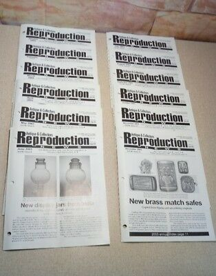 2003 Antique & Collectors Reproduction News Full Year report Fakes Reproductions