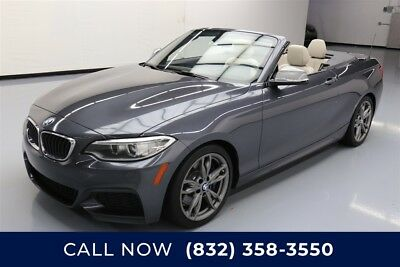 BMW M Roadster & Coupe M235i Texas Direct Auto 2015 M235i Used Turbo 3L I6 24V Automatic RWD Convertible