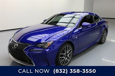 Lexus RC  Texas Direct Auto 2015 Used 3.5L V6 24V Automatic RWD Coupe Premium