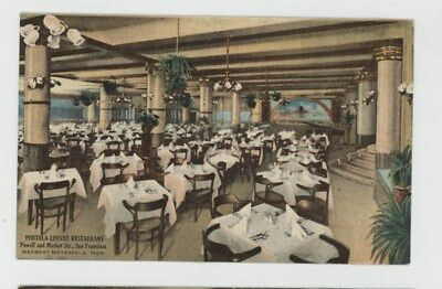 Mr Fancy Cancel Unused Pan Pacific Expo Porto Louvre Restaurant  Card #352