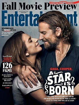 Lady Gaga Bradley Cooper A Star Is Born Entertainment Weekly August 2018 New