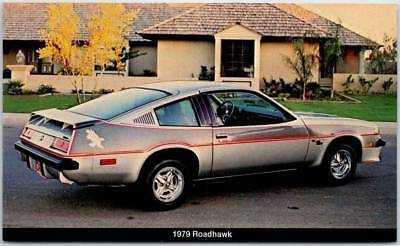 1979 BUICK ROADHAWK Car Ad Postcard Lochmandy Buick-Opel Elkhart Indiana Unused