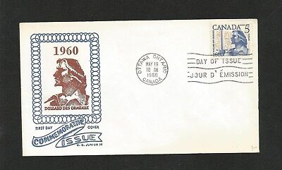 Canada Fdc George Cachet 390 Ormeaux
