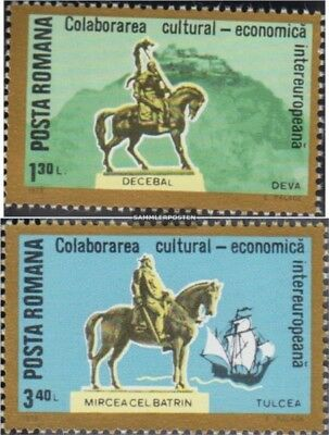 Romania 3514,3515 (complete issue) unmounted mint / never hinged 1978 INTEREUROP