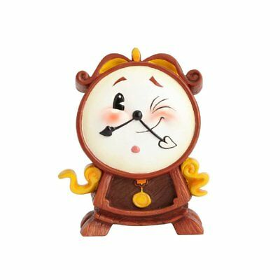 The World of Miss Mindy Disney Cogsworth Beauty and the Beast Figurine 4058893