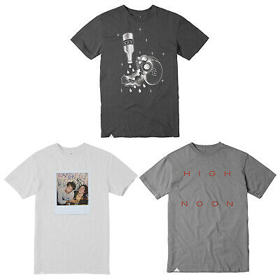 Back to School Skateboard T Shirts 3-PACK SALE Small (ALTAMONT) White Grey