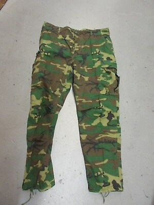 Us Army Usmc 1970's Vintage Transitional Rdf Erdl Trousers Large Long