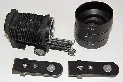 Nikon fit bellows, HN-24 hoods and AH-2 adaptors