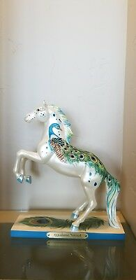 Trail of Painted Ponies Appaloosa Peacock 1E, #3179 With box.Excellent Condition