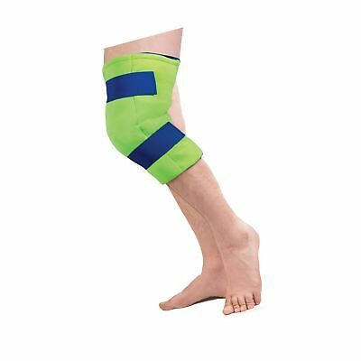 Polar Ice Large Knee Wrap Cold Therapy Wearable Ice Pack Adjustable Hook and ...