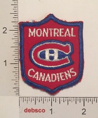 Vintage MONTREAL CANADIENS Hockey Team Canada Embroidered PATCH