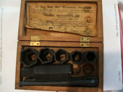 Antique  FRANK  MOSSBERG  Tool  Set