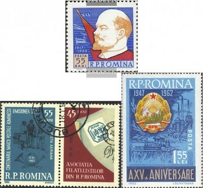 Romania 2064-2066,2068,2115, 2116Zf,2124 (complete.issue. fine used / cancelled