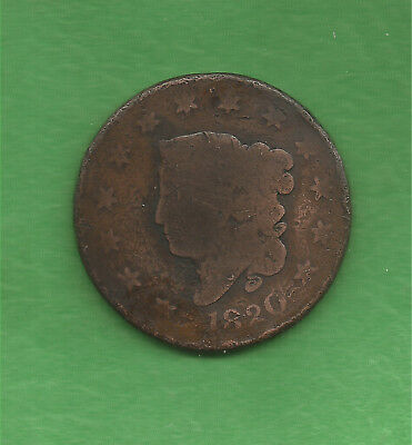 1820 Matron Head, Large Cent, Large Date - 198 Years Old!!!
