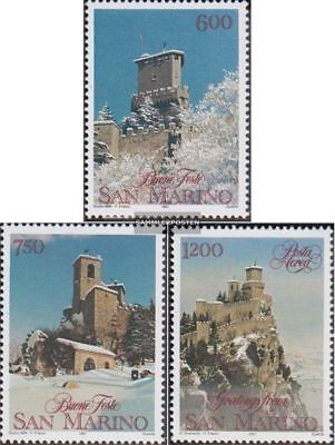 San Marino 1488-1490 (complete.issue.) unmounted mint / never hinged 1991 christ