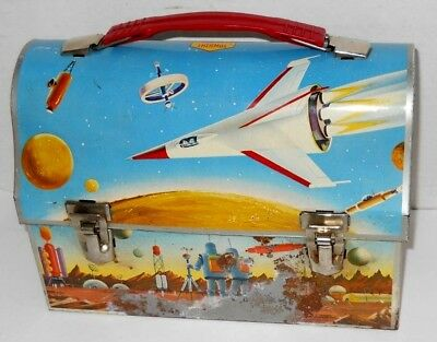 Vintage 1960 Astronaut Space Dome Lunchbox