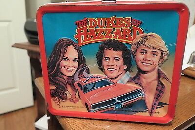 Dukes of Hazzard Lunch Box, 1980, by Alladin, good condition