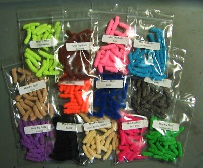 24 MOP FLY Bodies>14 Color Choices>The MOP FLY>COMBINE SHIPPING