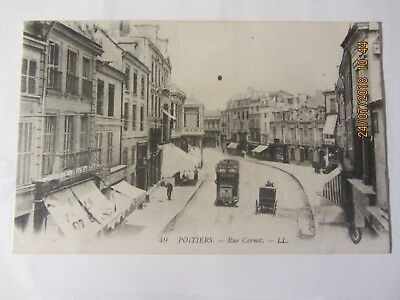 cpa POITIERS (86) rue Carnot