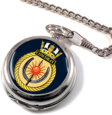 Pocket Watches Hms Cowdray Montre De Poche Chasseur Intégrale Watches, Parts & Accessories