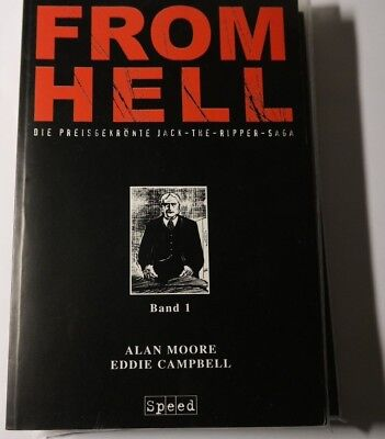FROM HELL  Band 1 bis 3 Comic  von Alan Moore, Eddie Campbell Speed