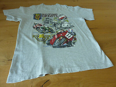 T-Shirt ISLE OF MAN GREATS 1994 McCallen HAILWOOD McIntyre SURTEES Bill Ivy FATH