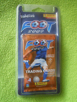 3  Pochettes Cartes Trading Cards Panini FOOT 2009 - NEUF sous blister