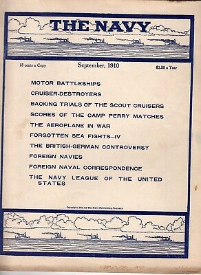 Sept 1910 The Navy magazine