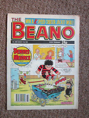 The Beano comic vintage book 11 August 1990 No. 2508