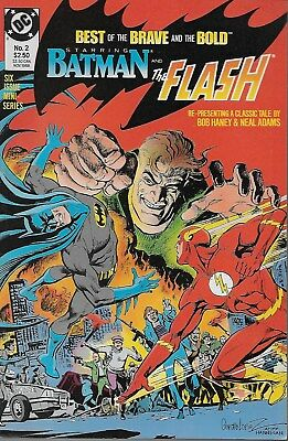 Best of Brave and the Bold No.2 / 1988 Batman & The Flash / Bob Haney Neal Adams