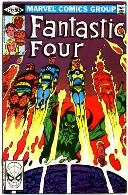 Fantastic Four 232 Nm- 9.2 High Grade John Byrne Diablo Marvel Bronze 1981 Nr!!