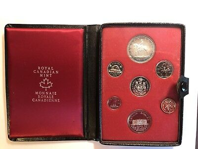 1973 Canada Double Dollar Silver Proof 7 Coins Set
