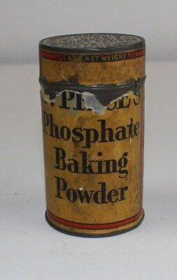 Perfectly Made Dr. Price's Phosphate Baking Powder 1/4 lb.vintage tin