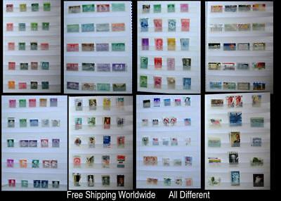 US United States Stamp Collection, All Different, Free Shipping Worldwide