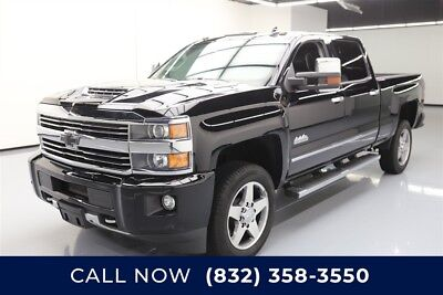 Chevrolet Silverado 2500 High Country Texas Direct Auto 2017 High Country Used Turbo 6.6L V8 32V Automatic 4WD Bose